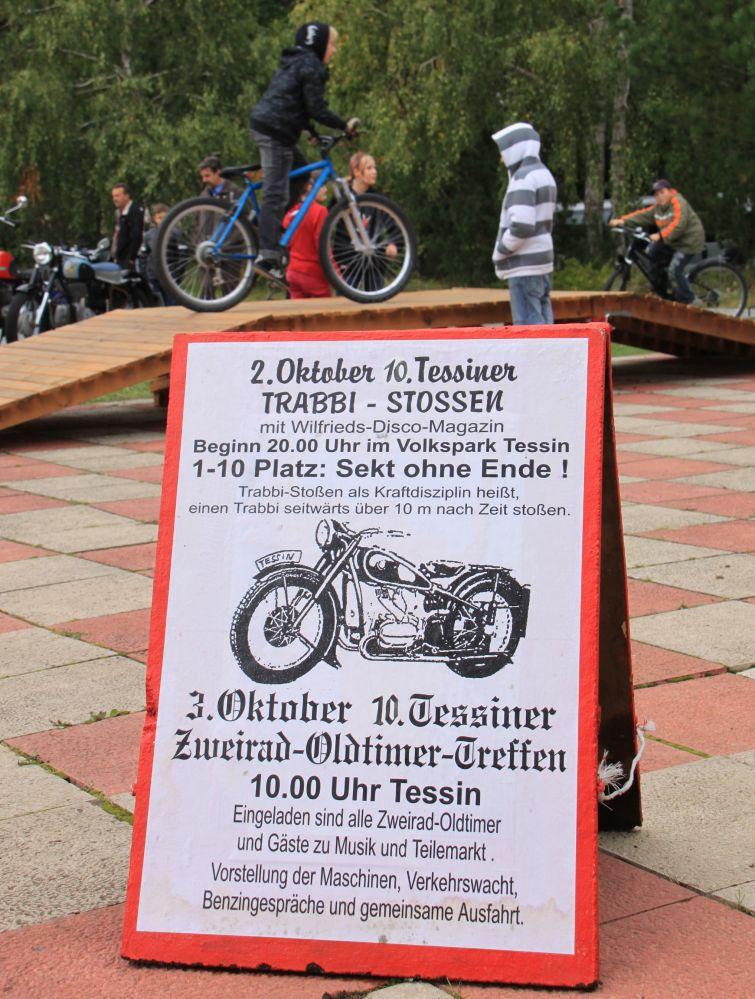 Zweirad-Oldtimertreff 2009 in Tessin