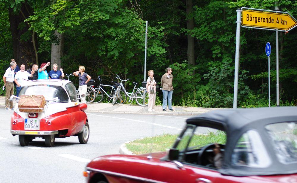 11. Schwanenrallye 2010 - Aktivitäten auf diesem Oldtimertreffen in Bad Doberan am Sonntag