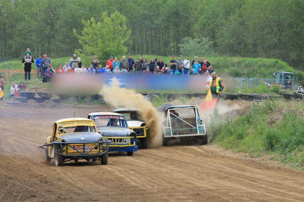 1. Stockcarrennen 2011 in Sanitz Wendfeld